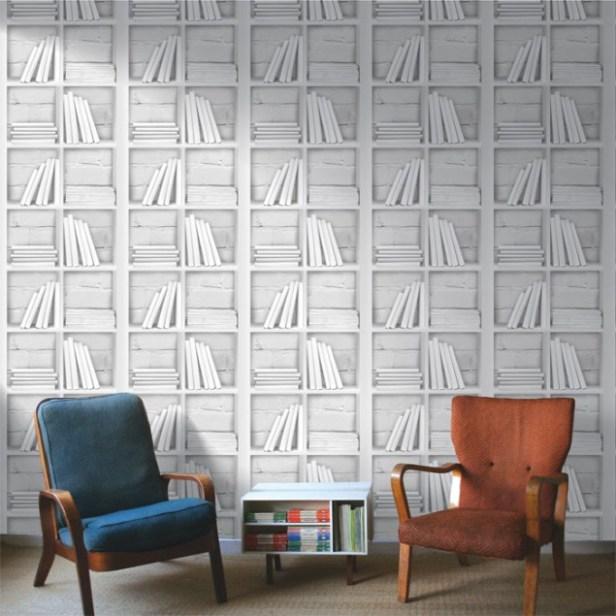 Chalk-Decor-Loft-Bookcase-Wallpaper-635x635