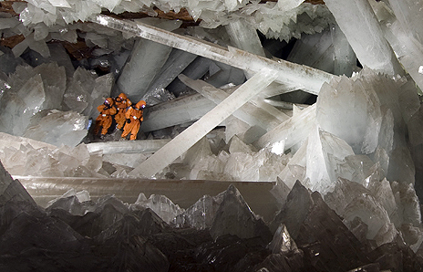 Mexico's Giant Crystal Cave