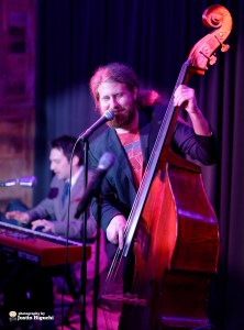 "Casey Abrams performing live at Scott Bradlee's weekly ""Postmodern Jukebox"" music series, at Hyde Sunset Kitchen + Cocktails in Hollywood (Los Angeles) California on Wednesday November 26th, 2014 by Justin Higuchi"