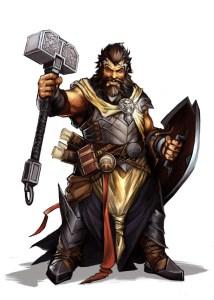 Dwarf Cleric
