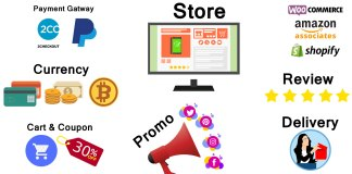 How to start an E Commerce business and a web store