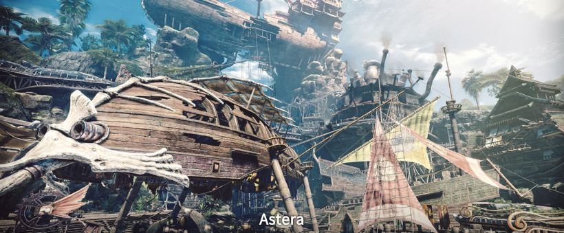Astera Monster Hunter World