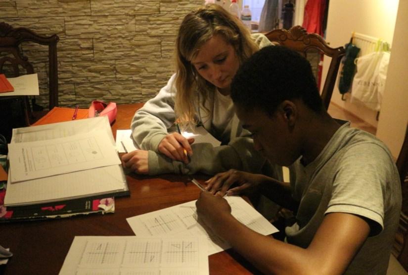 tutor and tutee