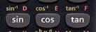 inverse trigonometric functions on casio calculator