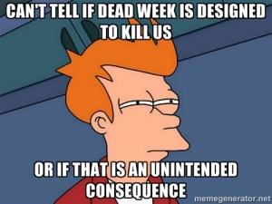 dead-week