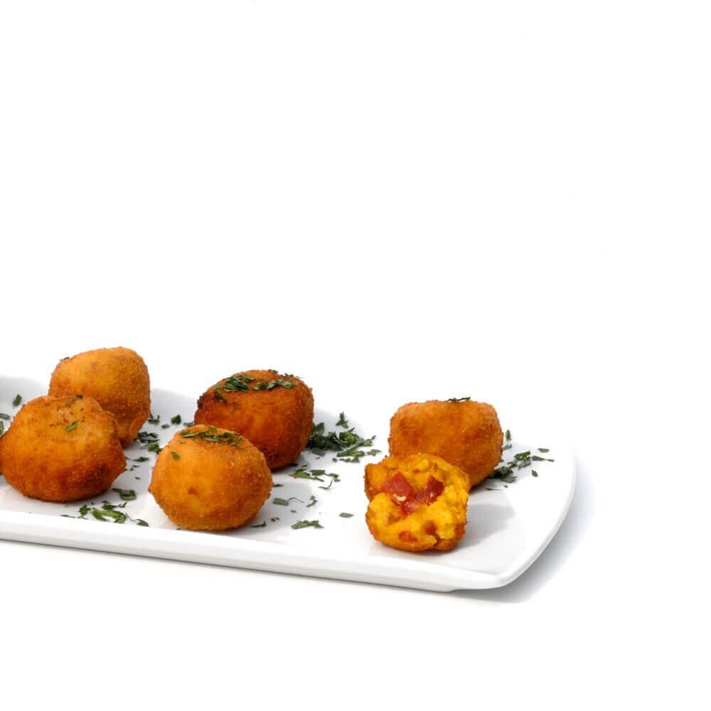 Paella-Kroketten