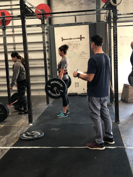 CrossFit Open 20.3 Deadlift