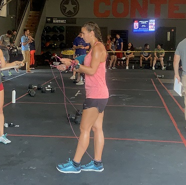 double unders, jump rope