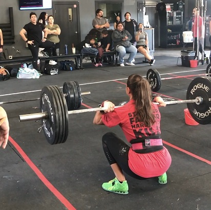 squat clean clean and jerk