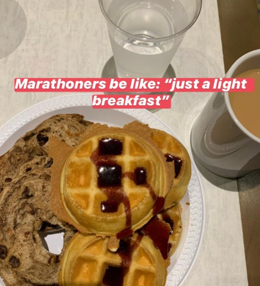 Cost of Destination Races Breakfast