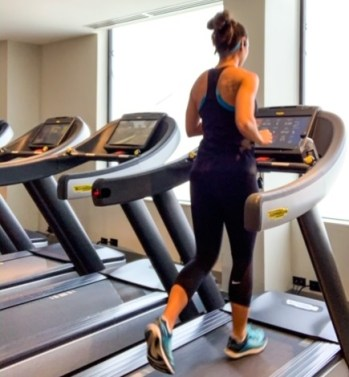 Working Out While Traveling Treadmill