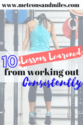 Lessons Learned from working out