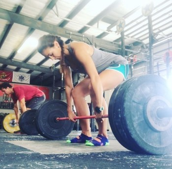 CrossFit and running - crossfit deadlift