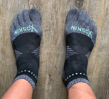 how to keep running when you want to quit - toe socks running gear