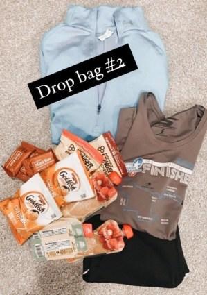 ultramarathon drop bags, ultramarathon drop bag tips, ultramarathon drop bag, how to pack an ultramarathon drop bag, what to pack for an ultra marathon, the drop bag, week before ultramarathon