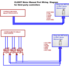 Wiring Diagram For House Alarm System Orbit Sprinkler Parts Cl200t Controlled By Third Part