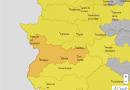 Avisos activados por calor en Extremadura 23-06-2020