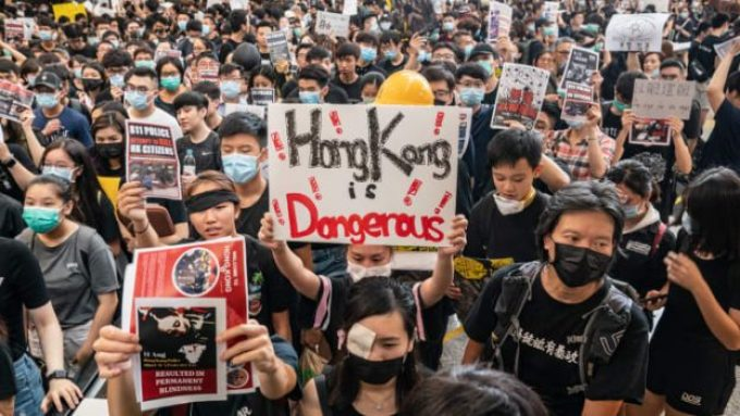 Hong Kong protestors Anthony Kwan | Getty Images