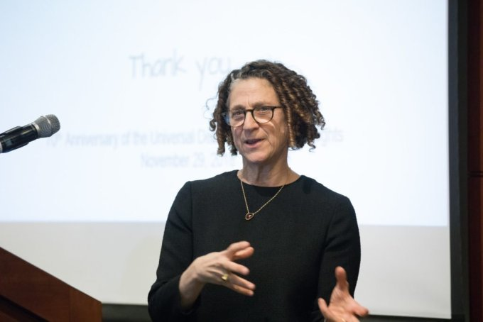 """Cynthia Dwork, a Harvard University computer scientist who helped develop differential privacy, has called the data technique """"provably future-proof,"""" meaning it's supposed to be immune even to hacking techniques that haven't been devised yet. CREDIT: Edmond J. Safra Center for Ethics"""