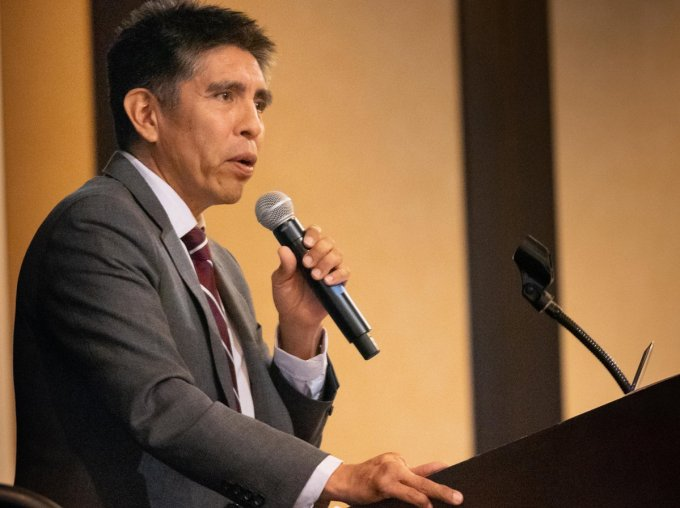 Daryl Vigil, water administrator for the Jicarilla Apache Nation, has pushed for increased tribal participation in Colorado River renegotiation discussions. Courtesy of Bob Conrad