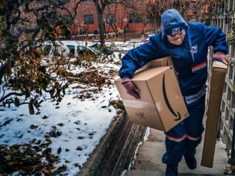 Mail carrier.