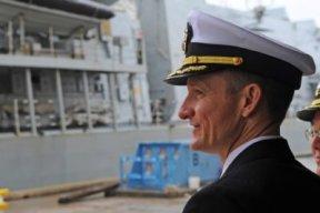 Captain Brett Crozier, USN