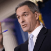 Acting Director of U.S. Citizenship and Immigration Services Ken Cuccinelli speaks about immigration policy at the White House during a briefing August 12, 2019 in Washington, D.C. (Photo: Win McNamee/Getty Images)