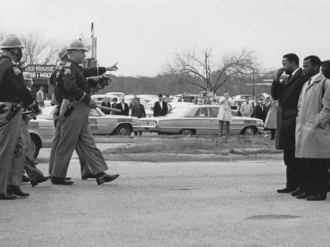 Rep. John Lewis (D-Ga.), who died last month at the age of 80, was arrested several times in the 1960s for demonstrating in favor of voting rights for black Americans. (Photo: Spider Martin GPA photo archive/Flickr/cc)