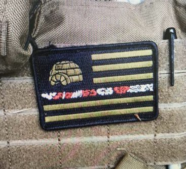 Evidence used by prosecutors in Steven Carrillo's case included a patch of the Boogaloo flag on a ballistic vest found in a vehicle registered to him. (United States District Court for the Northern District of California)