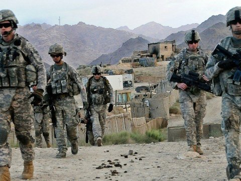 U.S. troops patrol near Forward Operating Base Baylough in Zabul province, Afghanistan on June 16, 2010. (Photo: U.S. Army/Public Domain)