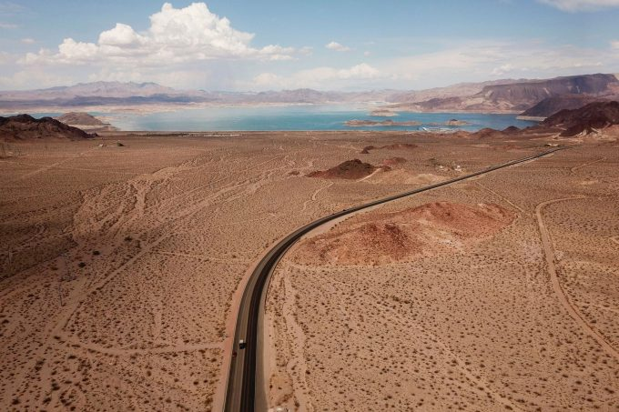 Lake Mead, the nation's largest freshwater reservoir, has been losing water because of epochal drought since 2000. Credit: Patrick T. Fallon/AFP via Getty Images