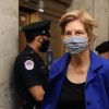 Sen. Elizabeth Warren (D-Mass.) arrives at the U.S. Capitol for a vote on May 18, 2020 in Washington, D.C. (Photo: Chip Somodevilla/Getty Images)