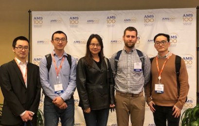 School of Meteorology Graduate Students become Award Winners at 2019 AMS