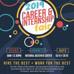 2019 A&GS Career and Internship Fair