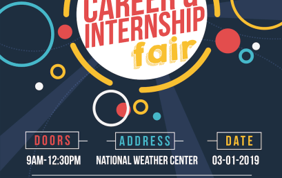 College of Atmospheric and Geographic Science is Prepared for Career Fair