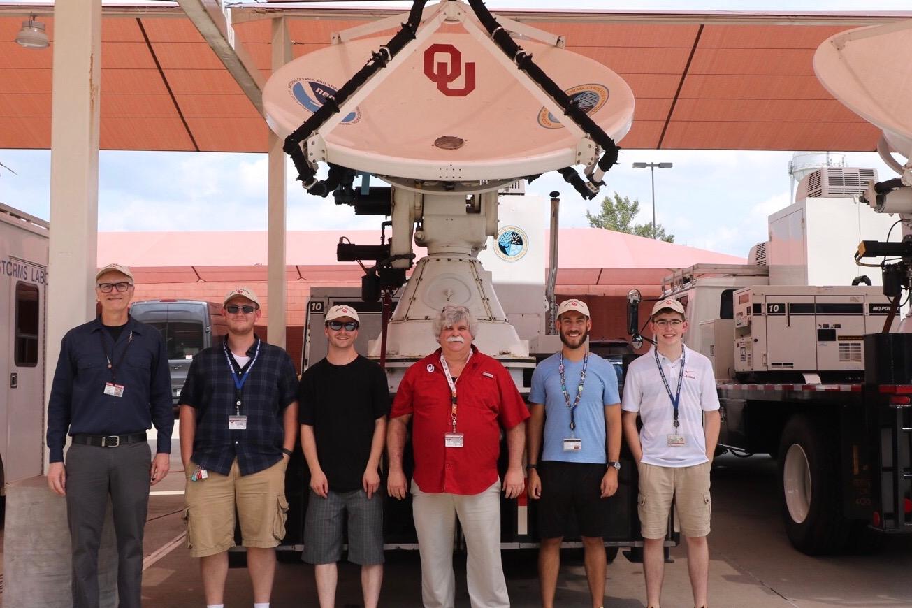 OU Researchers Deploy to Hurricane Dorian