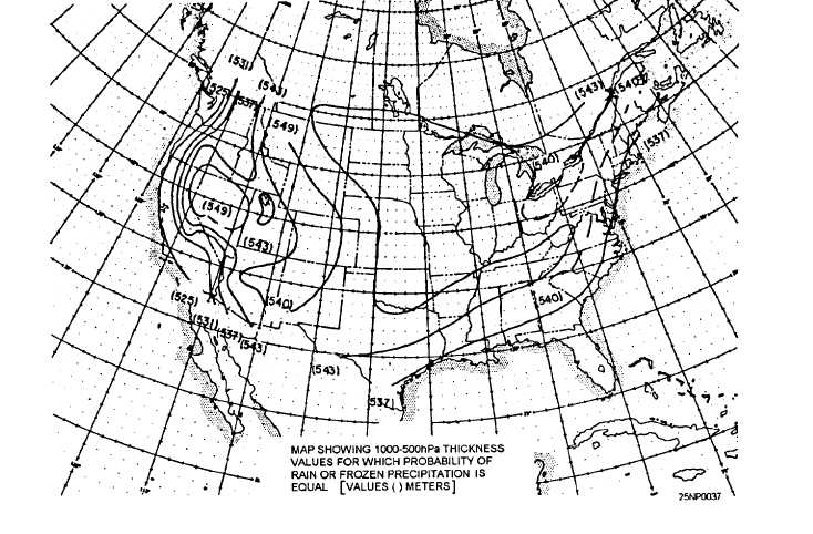 MOVEMENT OF THE 850-hPa 0C ISOTHERM
