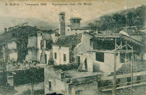 10 novembre 1918 il terremoto di Santa Sofia  Meteo Terremoti