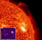 Sensacionales titulares sobre nueva mancha solar y posibles erupciones impresionantes
