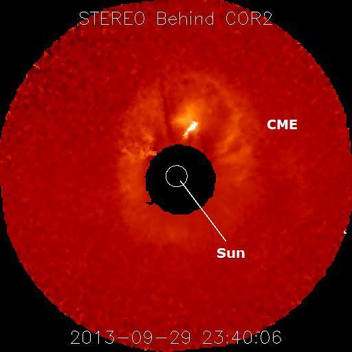 Plasma Solar dirigido hacia La Tierra estaría produciendo una tormenta geomagnética en las próximas 48 horas