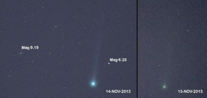 Fotos: El cometa ISON sorprende y ya es observable a simple vista