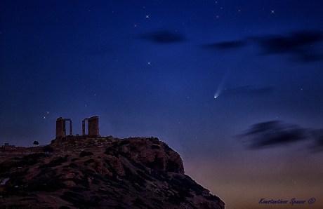 Konstantinos Spanos 23/11/13 and Temple of Poseidon, Cape Sounio, Attika, Grecia