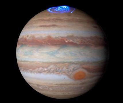 VIDEO: La NASA muestra imágenes de espectacular aurora boreal observada en Júpiter