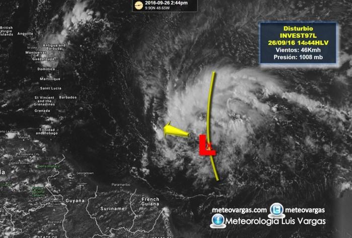 97L Un gran Disturbio atmosférico se acerca al Caribe ¿Qué debemos saber de éste posible ciclón tropical?