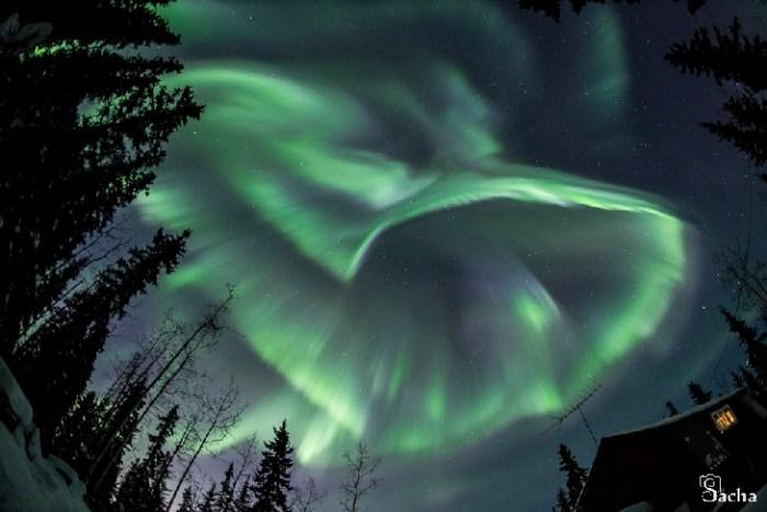 Una tormenta geomagnética ha dejado hermosas auroras boreales, acá te las muestro!