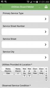 Primary service type