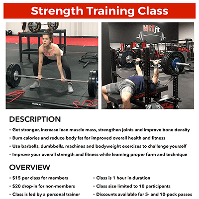 METfit Strength Training
