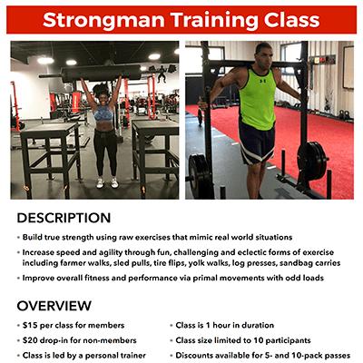 METfit Strongman Training