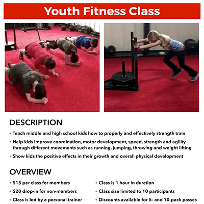 METfit Youth Fitness
