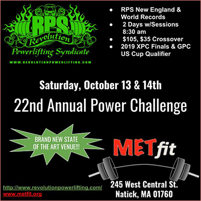 RPS 22nd Power Challenge Meet